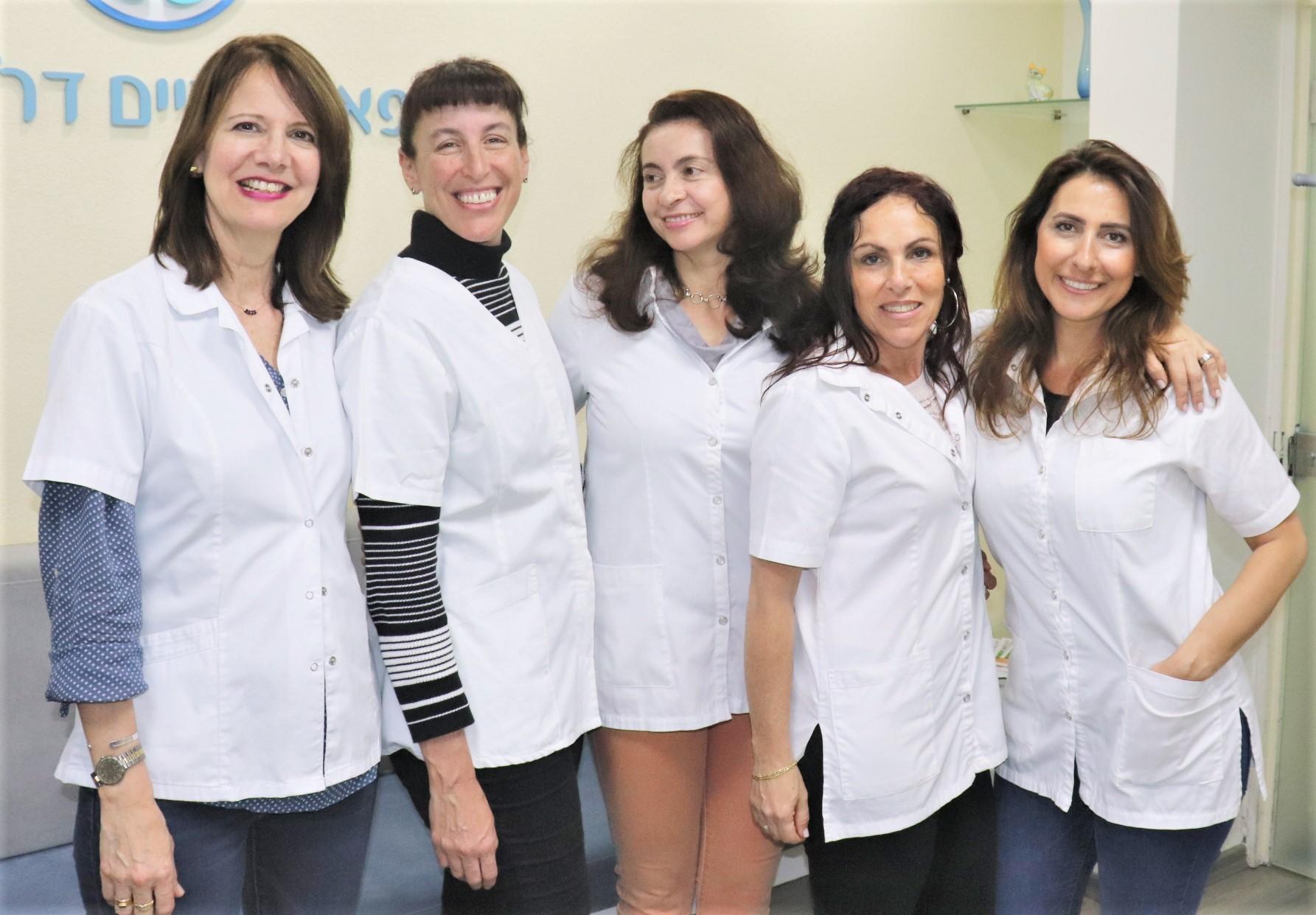 צוות מרפאת שיניים ברעננה ד